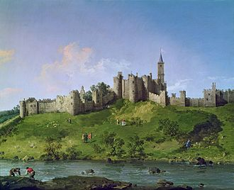 Henry de Percy, 1st Baron Percy - Alnwick Castle by Canaletto