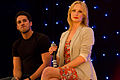 Candice Accola and Michael Trevino in June 2013 2.jpg