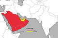 Canis lupus arabs map-tb.png