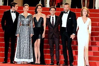 It's Only the End of the World - Director and stars at the 2016 Cannes Film Festival.