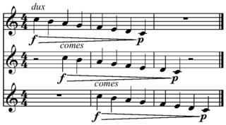 Canon (music) Musical technique