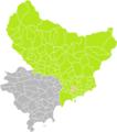 Cantaron (Alpes-Maritimes) dans son Arrondissement.png