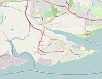 Canvey Island OSM map 2010.jpg