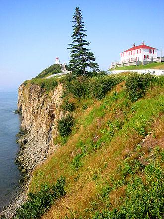 Cape Enrage - Cape Enrage lighthouse