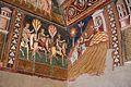 Cappella di san silvestro, affreschi del 1246, storie di costantino 03 invio dei messi a papa silvestro sul soratte 1.jpg