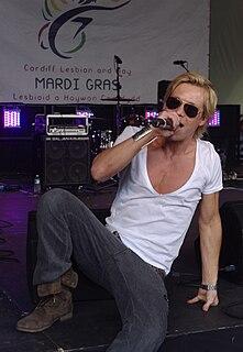 Adam Rickitt actor, singer, model