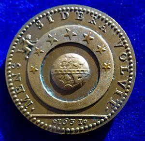 Duke of Fronsac - Image: Cardinal Richelieu Bronze Medal 1631 by Warin. Reverse