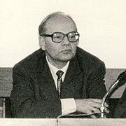 Carl Ordnung bei der Jahrestagung der CFK in der DDR in der Stephanus-Stiftung Berlin-Weißensee