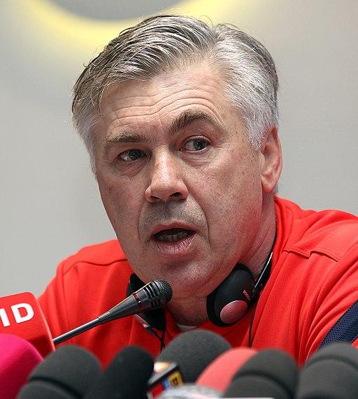 Carlo Ancelotti 2012 (cropped)