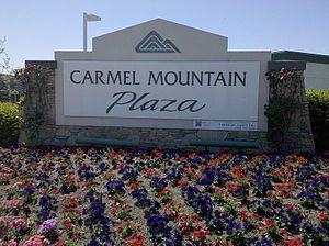 Carmel Mountain Ranch, San Diego - Sears, Petco, and Best Buy are among the biggest retailers in this shopping center; however, there are dozens of others, and a directory can be viewed on the referenced website below. It is the largest in terms of area of the centers.