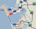 Carreteras de la Bahía de Cádiz (sector sur).PNG