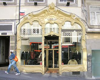 Casa Vicent - The front facade of Casa Vicent, comparable to the front facade of the Café Majestic