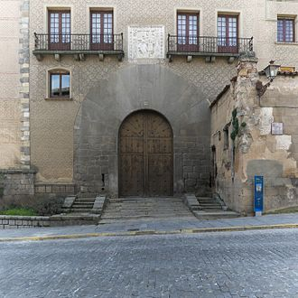 Count of Chinchón - Palace of the Counts in Segovia