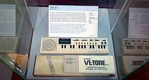 Casio VL-1 - Vienna Technical Museum / VL-1 Inv. Nr 81934