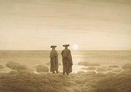 Caspar David Friedrich : Mondaufgang