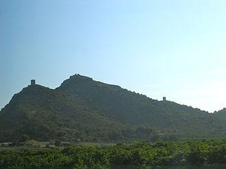 Almenara, Castellón - Image: Castell d'Almenara