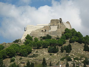 Siege of Roses (1808) - Castell de la Trinitat, an outlying fort.