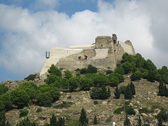 Roses, Girona - The Castell de la Trinitat.