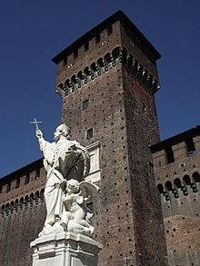 Costruì la torre del castello sforzesco di milano