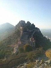 Castillo de Játiva, parte Sur, desde la parte Norte.jpg