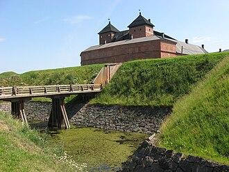 Tavastia Proper - Image: Castle of Häme entrance bridge over moat