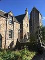 Castle Wynd House, tower & church courtyard.jpg