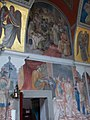Castle church. Named after St. John the Baptist. Listed ID 7400. Frescoes. - Várdomb, Szentendre, Pest County, Hungary.JPG