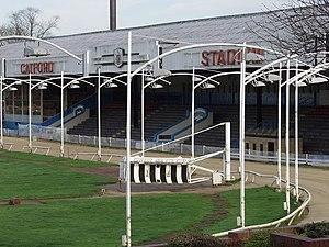Catford Stadium - Catford Stadium in 2003