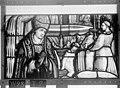 Cathédrale - Vitrail, Chapelle Saint-Joseph, lancette médiane, Légende de saint Romain, troisième panneau, en haut - Rouen - Médiathèque de l'architecture et du patrimoine - APMH00031278.jpg