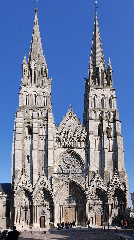 Cath drale notre dame de bayeux wikip dia - Une cathedrale gothique ...