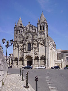 Angoulême Cathedral cathedral located in Charente, in France