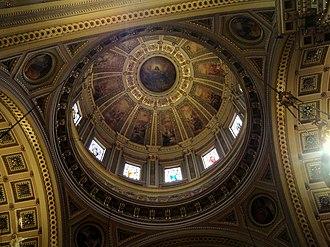 Cathedral Basilica of Saints Peter and Paul (Philadelphia) - Basilica dome