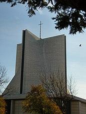 Catedral de Santa María, San Francisco (1967-1971), junto con Pietro Belluschi.