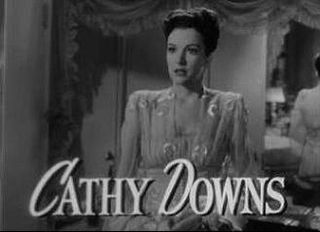 Cathy Downs American actress