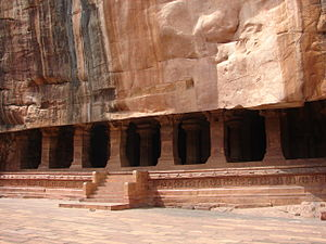 Bagalkot district - Vaishnava Cave temple No. 3 at Badami, 578 CE