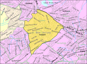 Census Bureau map of Summit, New Jersey.png
