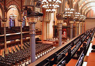 John Storyk - Central Synagogue in NY
