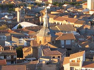 Consuegra Place in Castile-La Mancha, Spain