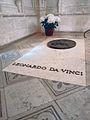 Château de Amboise Tom of Leonardo da Vinci.jpg