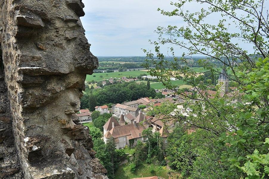 Ruines du château du Cuchet