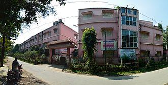 Chakdaha College - Chakdaha College, Nadia. Oct 2013.
