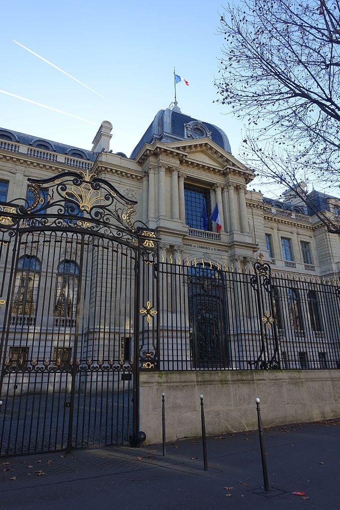 file:chambre de commerce et d'industrie, paris 27 december 2016