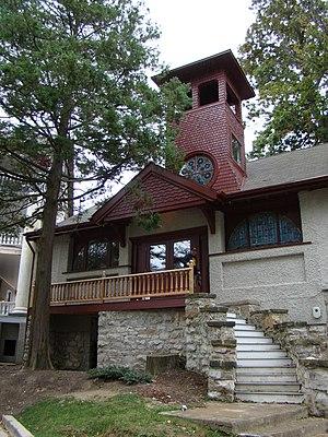 Emily Elizabeth Holman - Chapel, built 1898