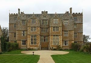 Chastleton House - Chastleton House - front