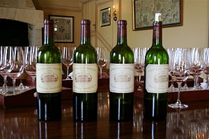 French wine from the Bordeaux producer