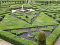 Chateau Villandry garden, Loire Valley, 2004.JPG