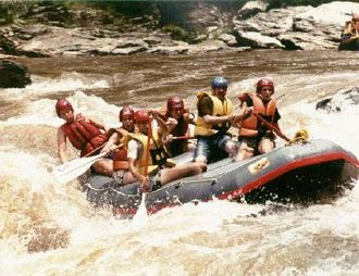 Chattooga River - Whitewater rafting