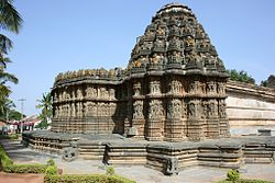 Chennakeshava temple (1250 A.D.) at Aralaguppe in Tumkur district