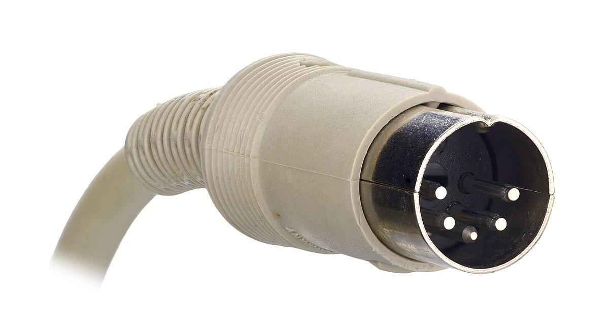 Din Connector Wikipedia, 5 Pin Din Plug Wiring Diagram
