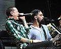 Chester Bennington and Mike Shinoda 2011 (suran2007) - Flickr.jpg